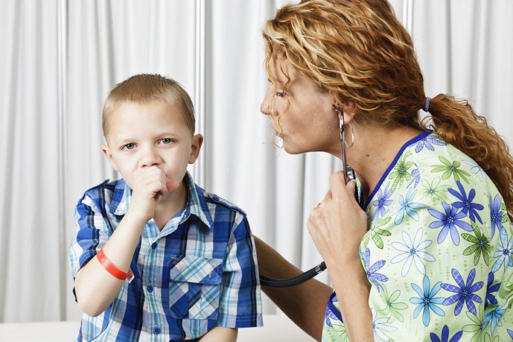 Ребенок когда бегает начинает кашлять